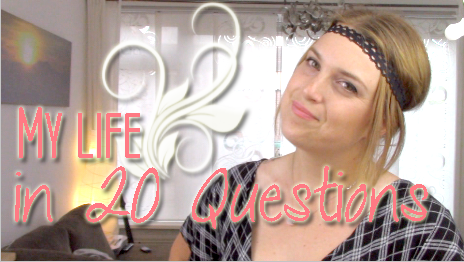 013 my life in 20 questions